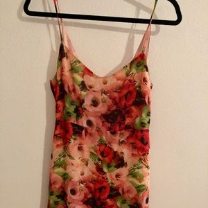 BB Dakota Pink Floral Minidress (Size 2)